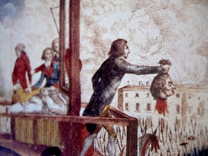 The execution of Louise King of France.